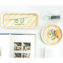 Avocado - Romane Long and round melamine desk tray