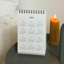 Calendar - Dailylike 2020 Cute illustration small desk flip calendar