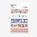 Dailylike Friends masking seal paper deco sticker set
