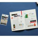 Usage example - Dailylike Retro masking seal paper deco sticker set