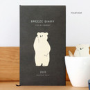 Polar bear - 2020 Life is a journal breeze dated weekly diary