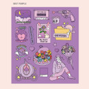 Best purple - Ardium Pop illustration colorful point paper sticker ver3
