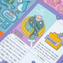 Usage example - Ardium Pop illustration colorful point paper sticker ver3