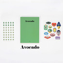 Avocado - GMZ 2020 Fruit dated monthly journal diary with sticker