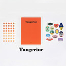 Tangerine - GMZ 2020 Fruit dated monthly journal diary with sticker