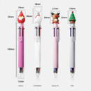 Size - 2young Christmas 6 colors 0.7mm ballpoint multi pen