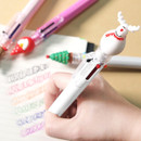 2young Christmas 6 colors 0.7mm ballpoint multi pen