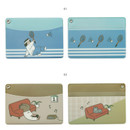 01, 02 - Monologue daily flat card case holder
