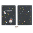 Planet navy - Monopoly 2020 Toffeenut friends dated weekly diary planner