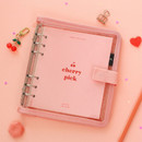 2NUL Cherry pick 6-ring dateless weekly diary planner