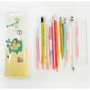 Monologue clear folding pencil case