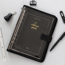 2NUL Editor pick 6-ring dateless weekly diary planner