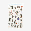 Dailylike Daily transparent deco cute sticker - Penguin