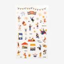 Daily transparent deco cute sticker - Festival