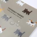 Water resistant - Monopoly Toffeenut friends PP document file folder
