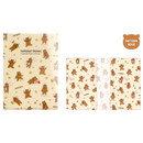 Pattern beige - Monopoly Toffeenut friends PP document file folder