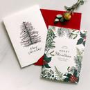 DBD Botanic Christmas card with envelope