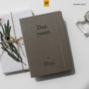 Warm gray - After The Rain 2020 Dot your day weekly dated diary planner
