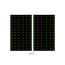 Black - After The Rain 8-bit alphabet paper sticker set