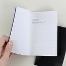 100gsm paper - Monopoly Simple diario small lined notebook