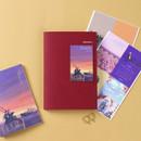 Burgundy - Wanna This Omnibus dateless weekly diary planner