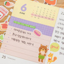 Usage example - Ardium Hello coco removable daily deco sticker