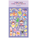 Purple - Fantasy - Ardium Hello coco removable daily deco sticker