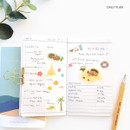 Daily plan - O-CHECK Travel planner journal notebook