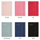 Colors of Monopoly 2020 Appointment A5 dated monthly planner