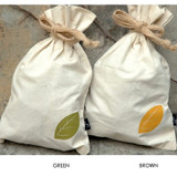 Colors of Cotton leaf pouch