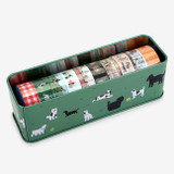 Dailylike Go to picnic 10 masking tapes set with tin case