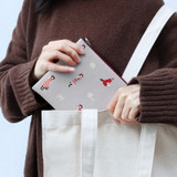 Warm gray - Bookfriends Anne of green gables zipper pouch