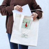 Bookfriends Anne of green gables cotton shoulder bag