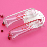Second Mansion Cherry me twinkle PVC zip pencil case