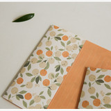 Usage example -  Dailylike Mind pattern letter with envelope set- Orange tree