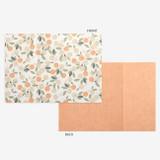 Detail of Dailylike Mind pattern letter with envelope set- Orange tree
