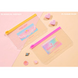 Sugar lush, Magical Fantasy - Second Mansion Retro mood 6-ring A6 zip lock pouch bag
