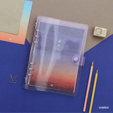 Sunrise - Second Mansion Damwha 6-ring A5 size grid notebook