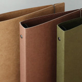 PAPERIAN Paperboard A5 size 6 ring binder with elastic band