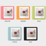 Color - 2NUL Instax polaroid square slip in pocket photo album