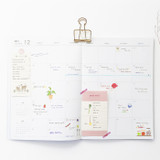 O-CHECK 2020 Linen paper A4 dated monthly diary planner