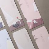 Dash And Dot Vintage mood thanks 5 envelopes set