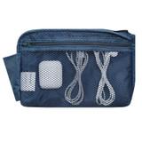 Mesh zipper pocket - Monopoly Air mesh large cable half zipper case pouch