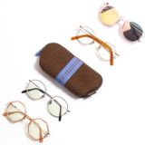 Usage example - Monopoly Air mesh glasses zipper pouch bag