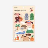Package - Dailylike Jeju removable paper deco sticker