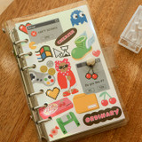 Usage example - Dailylike Retro removable paper deco sticker