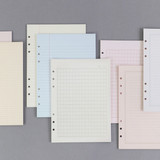 PAPERIAN Lifepad 6-ring A5 size notebook refill