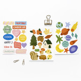 O-CHECK Spring come removable paper deco sticker