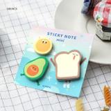 Brunch - Iconic Mini buddy sticky note memo set
