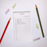 N.IVY Today is to do list memo checklist notepad